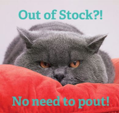cat out of stock