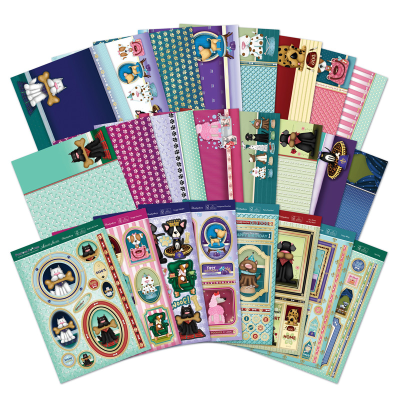 Hunkydory - Precious Pooches - Luxury Topper Collection