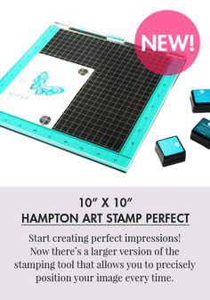 Hampton Art Stamp Perfect Positioning Tool