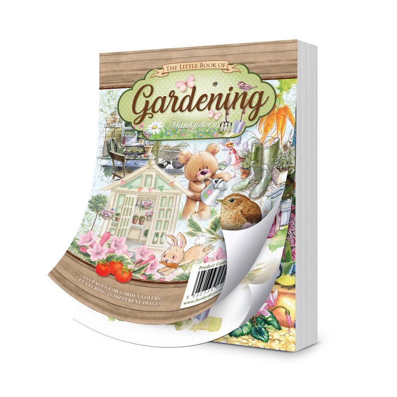 7c3f1473ed552 Hunkydory – The Little Book of Gardening – Devoted Crafts