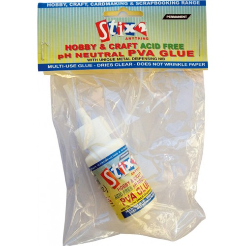 Stix2 Hobby and Craft PVA with Nib - 30ml Acid Free