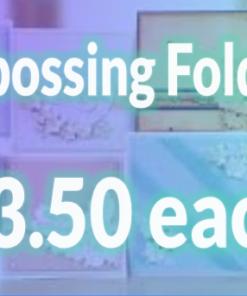 Embossing Folder Offer £3.50