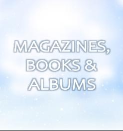 MAGAZINES, BOOKS & ALBUMS